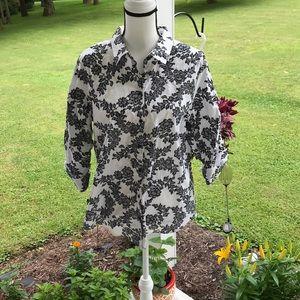 Worthington Tops - XL Worthington Women's Button-up Blouse